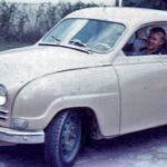 Min andra Saab, en 96:a från 1961